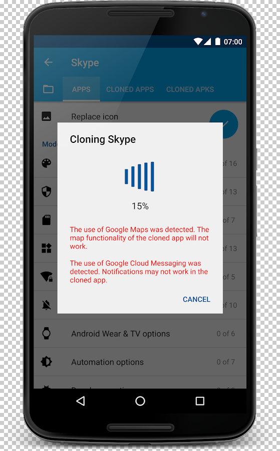 app cloner premium مهكر