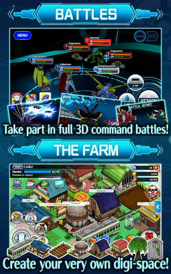 Digimon LinkZ Apk