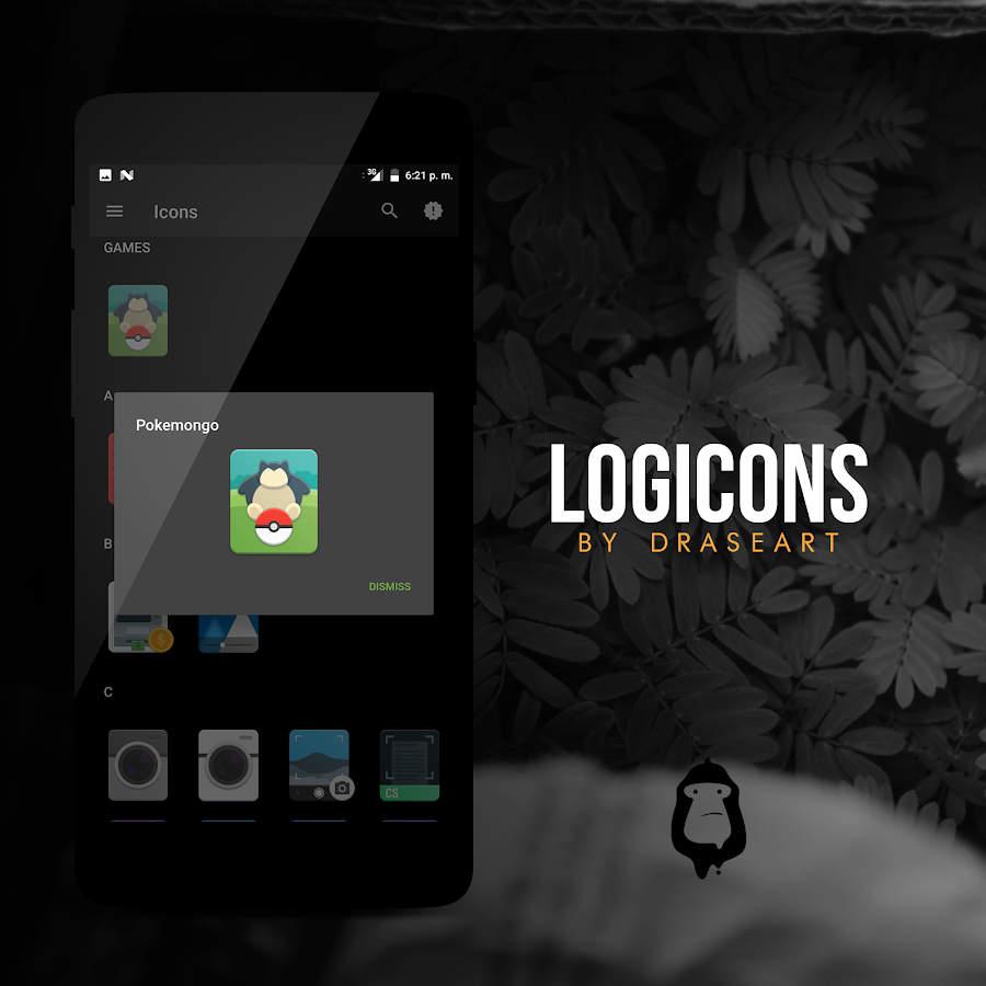 Logicons iconpack Beta Apk