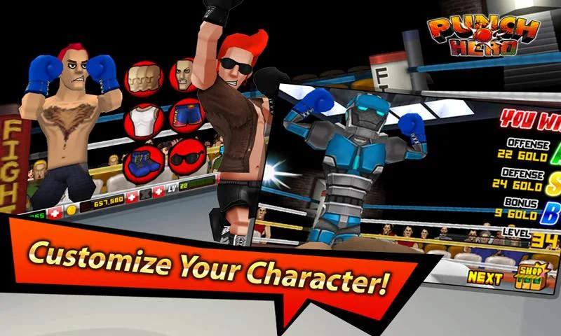 Punch Hero Modded Apk