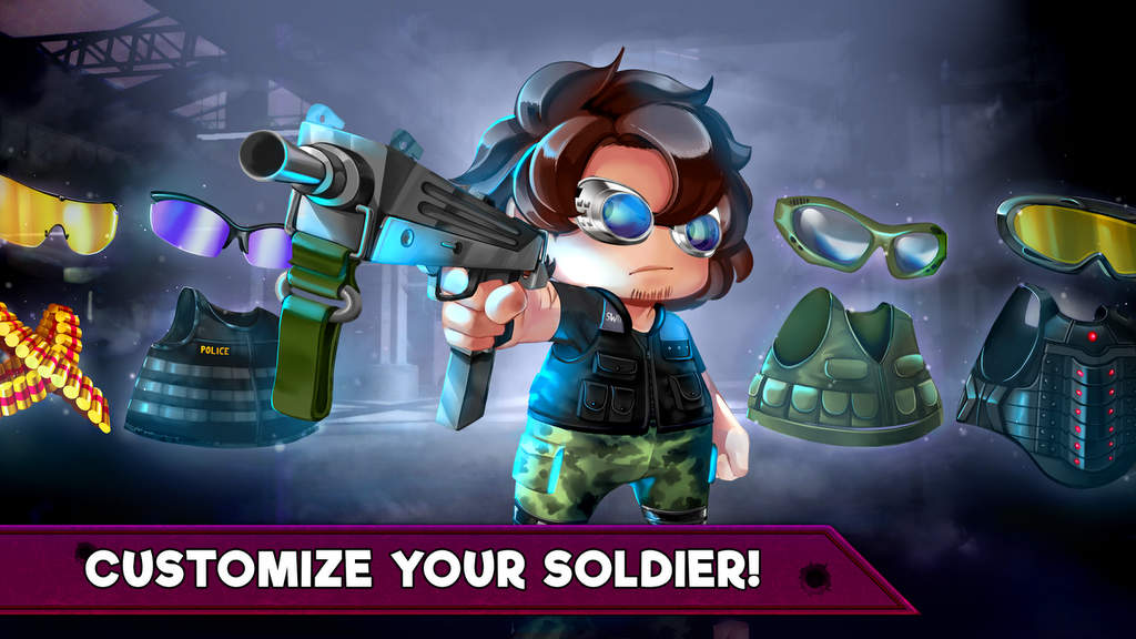 Ramboat 2 Soldier Shooting Game Mod