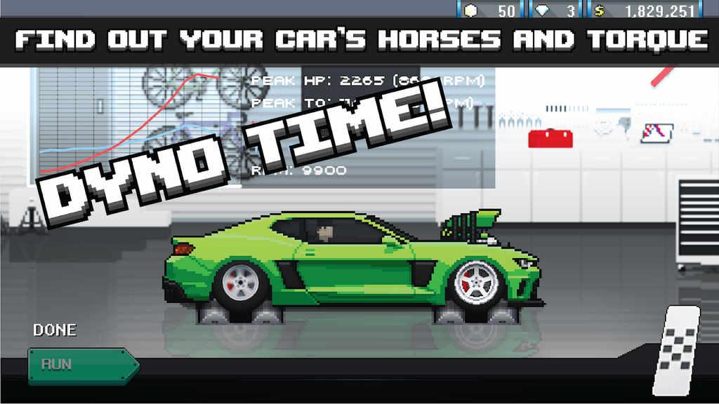 pixel car racer hack apk