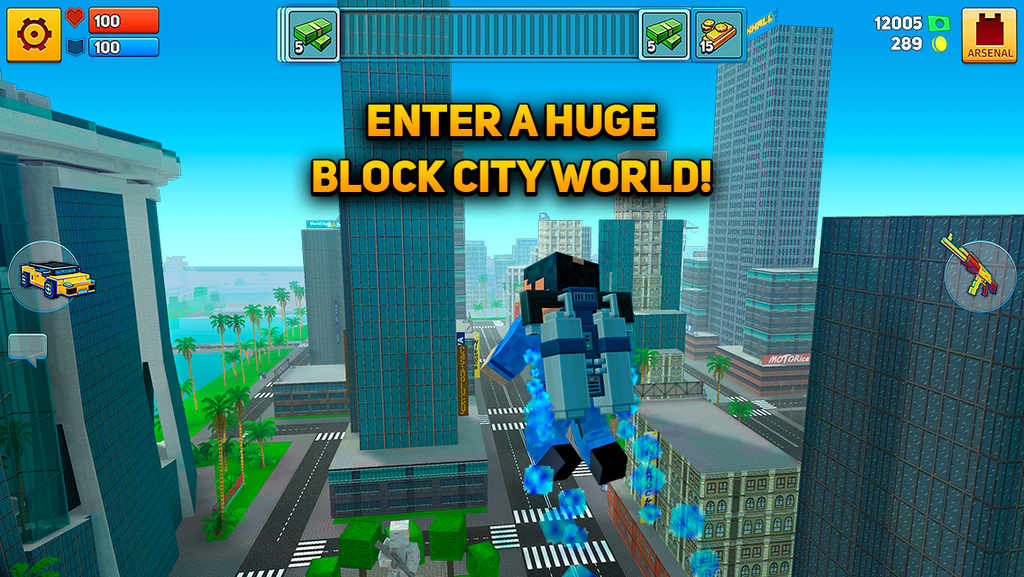 Block City Wars Hack Apk V7.0.3 Full Mod Latest