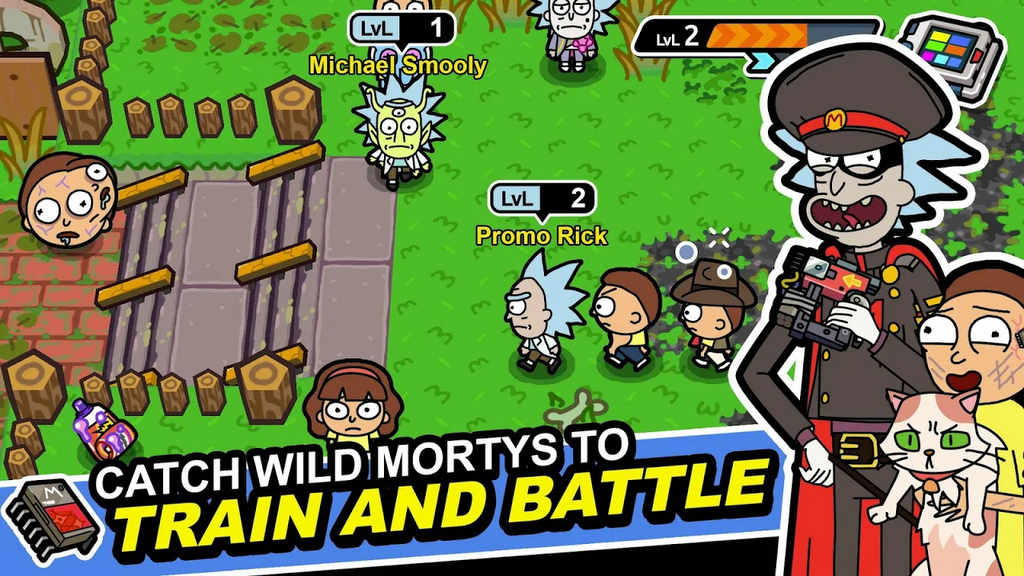 pocket mortys mod