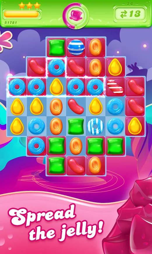 Candy Crush Jelly Saga Apk Mod