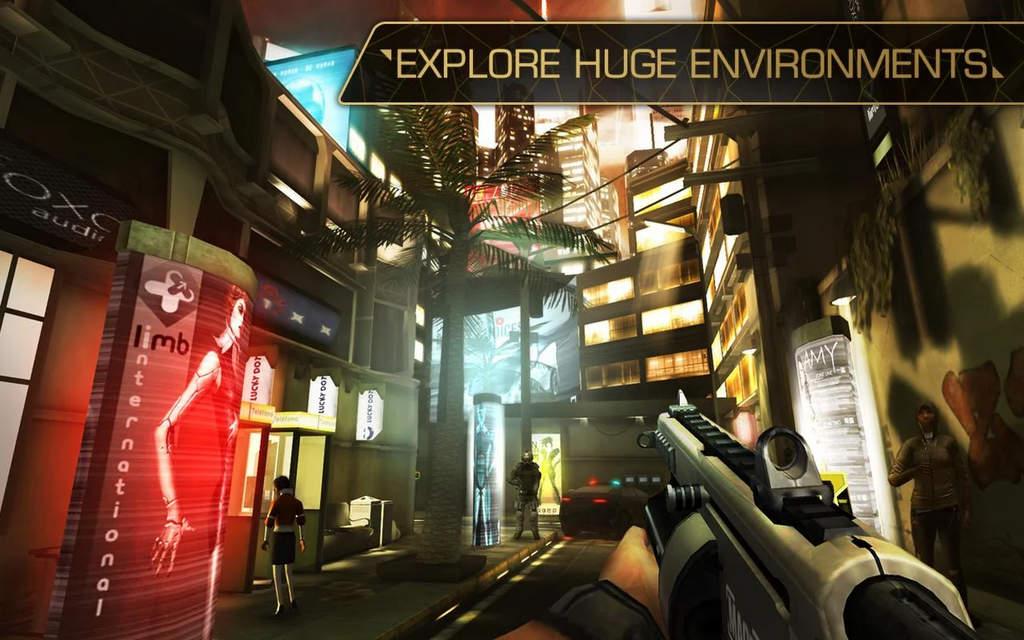 Deus Ex The Fall Mod Apk