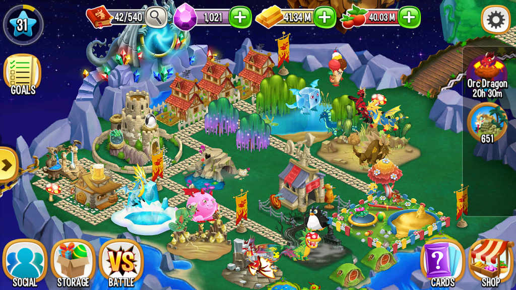 Dragon City Apk Download