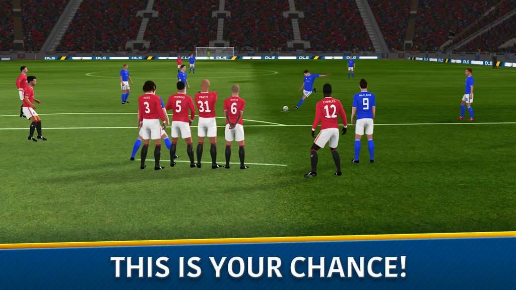 Dream League Soccer Mod Apk Unlimited Money