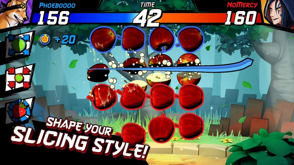 Fruit Ninja Fight Modded Apk