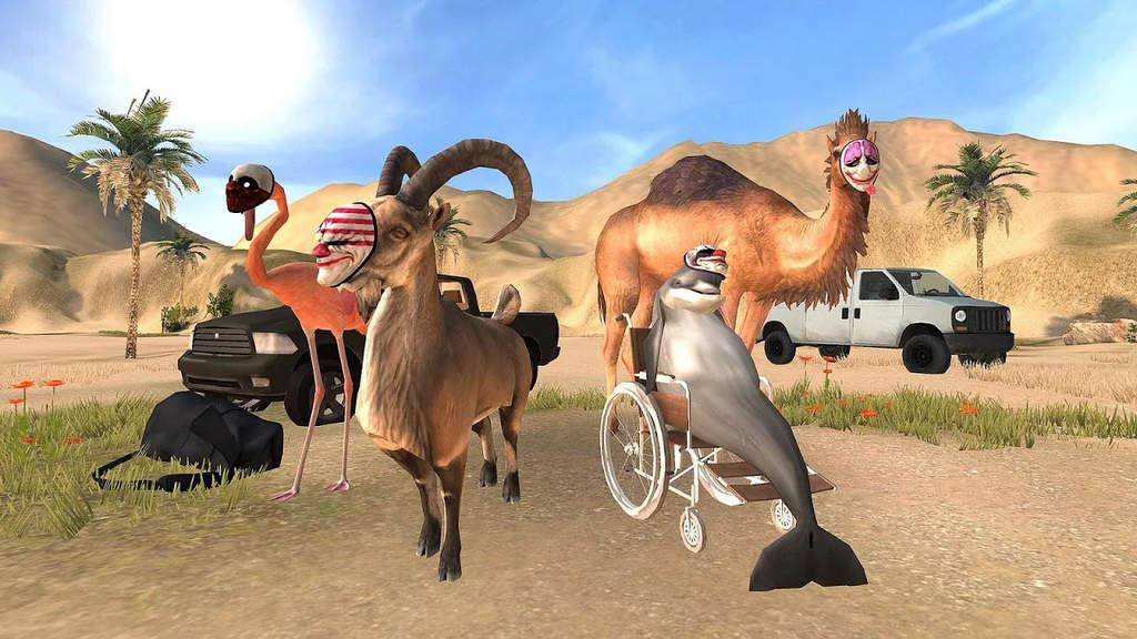 Goat Simulator Payday Apk