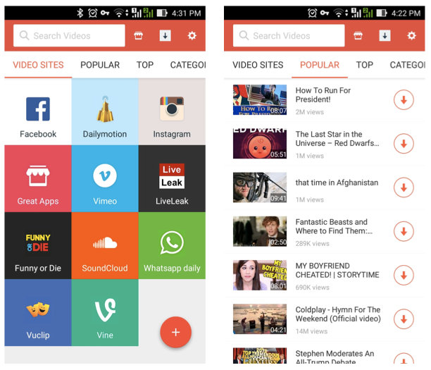 SnapTube YouTube Downloader Apk