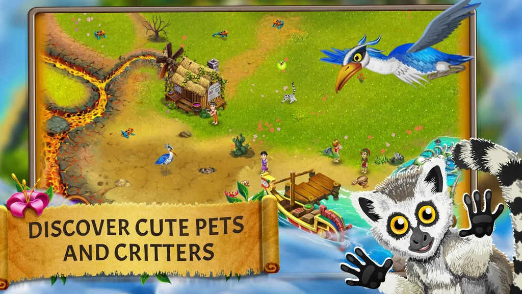 Virtual villagers origins 2 mod apk v1 latest for Vv origins 2 artisanat