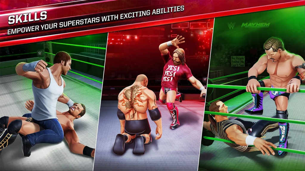 WWE Mayhem Apk