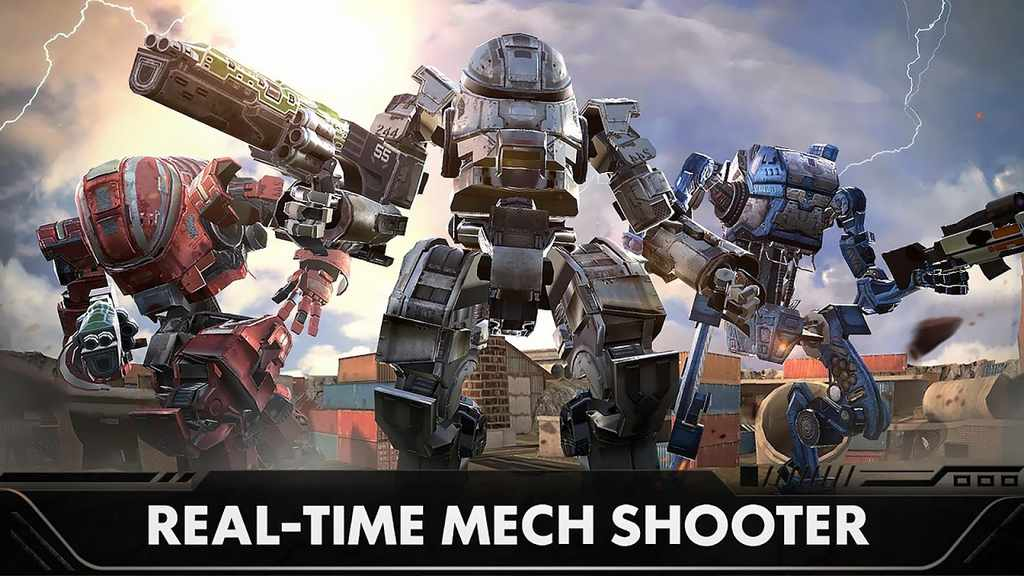 Last Battleground Mech Mod Apk