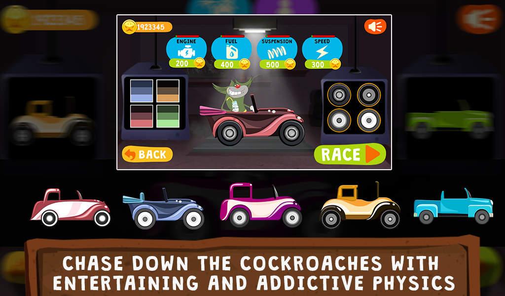 Oggy Go World of Racing Mod Apk