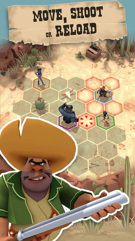 Pocket Cowboys Wild West Standoff Apk