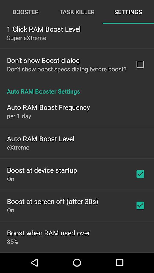 RAM Booster eXtreme Pro Apk