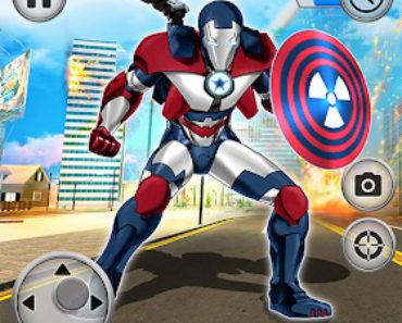 Superhero Captain City America Rescue Mission Apk