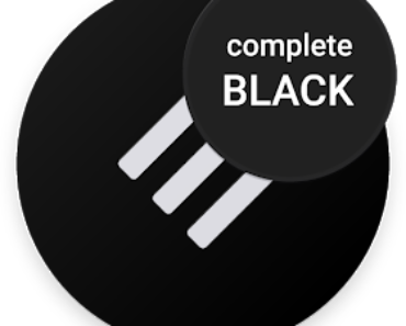 Swift Black Substratum Theme Apk