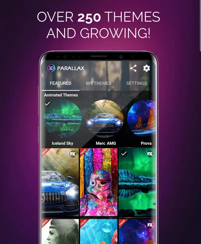 3D Parallax Background Apk