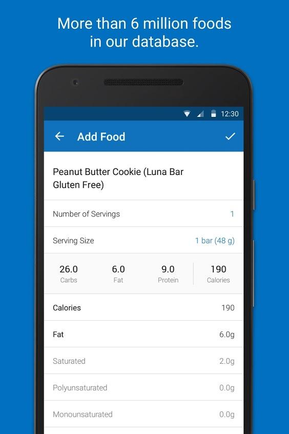 Calorie Counter MyFitnessPal Premium Hack