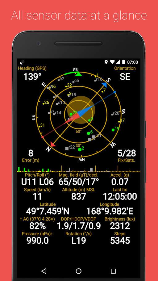 GPS Status Pro Apk