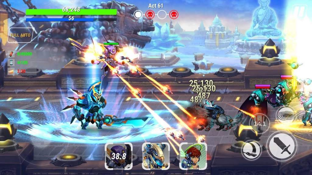 Heroes Infinity God Warriors Mod Apk