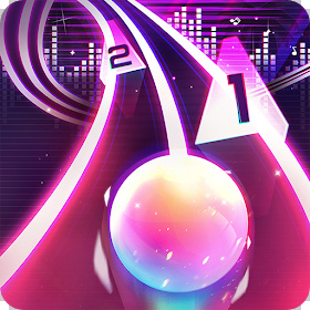 Infinity Run Rush Balls On Rhythm Roller Coaster Mod Apk