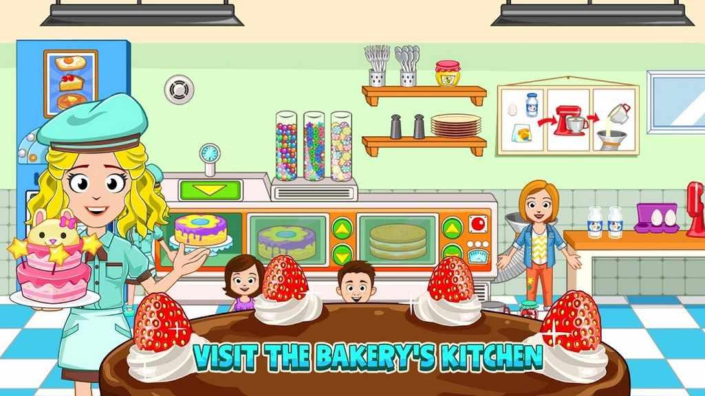 My Town Bakery Apk