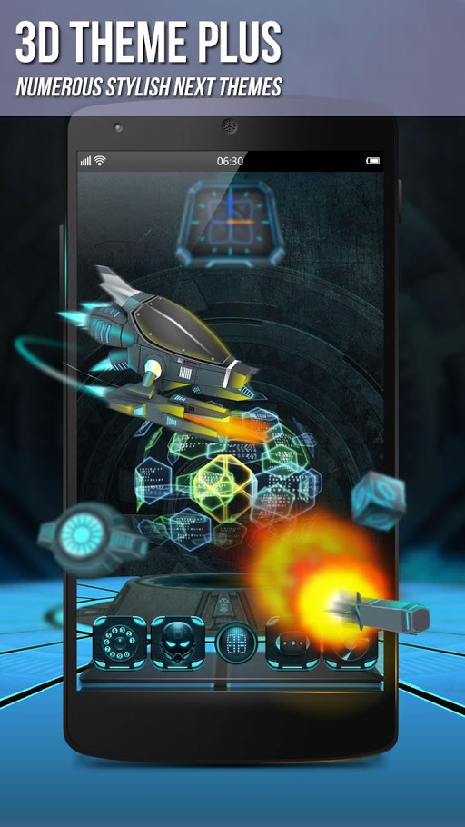 Next Launcher 3d Shell Apk
