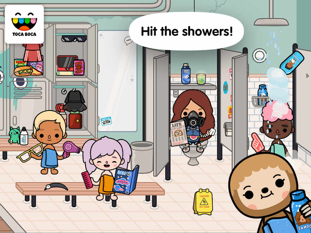 Toca Life After School Apk