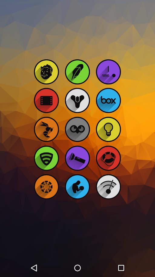 Umbra Icon Pack Apk