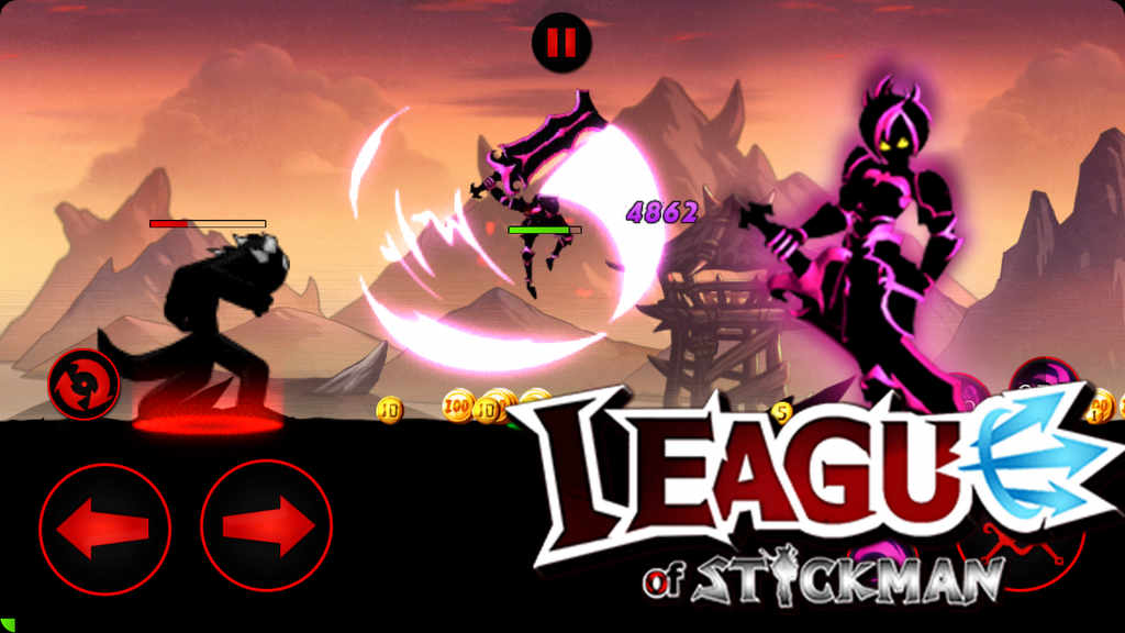 League of Stickman Apk Mod