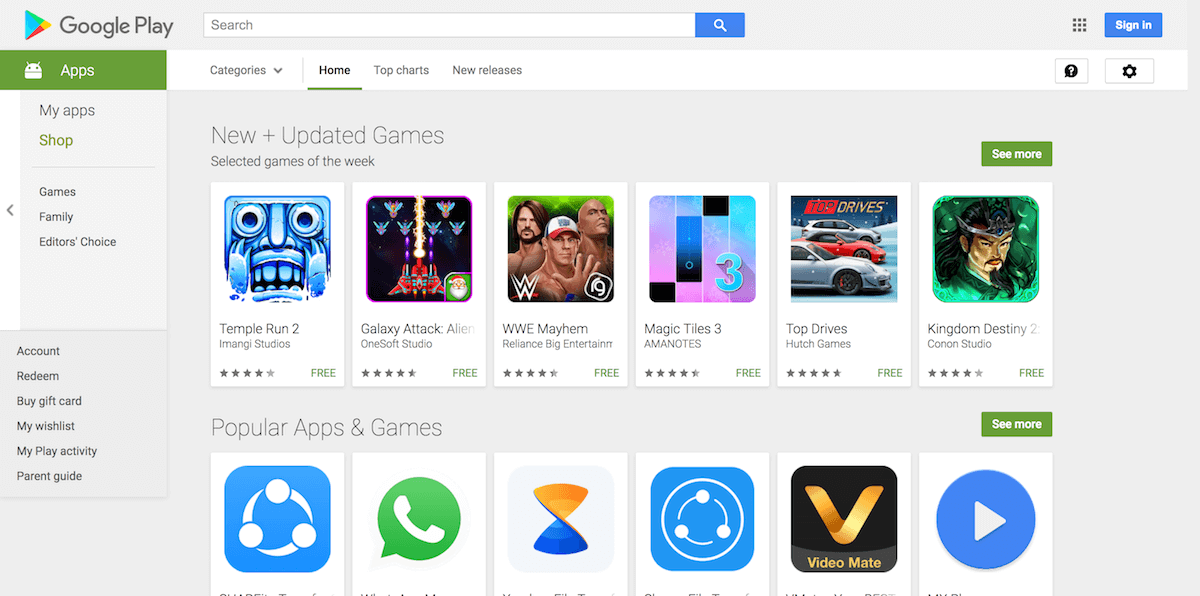 Google Play Store Modded Apk