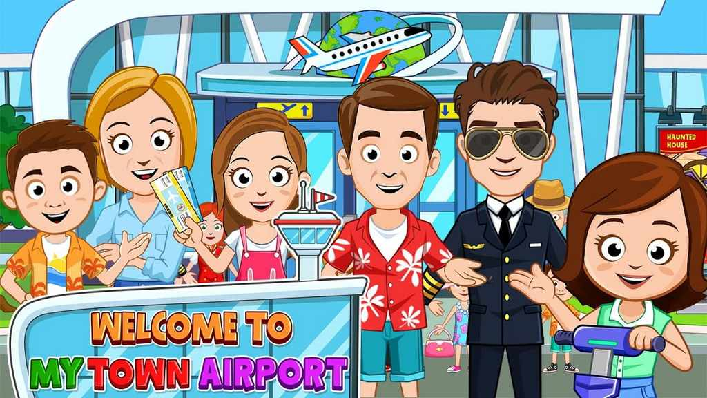 My Town Airport Apk