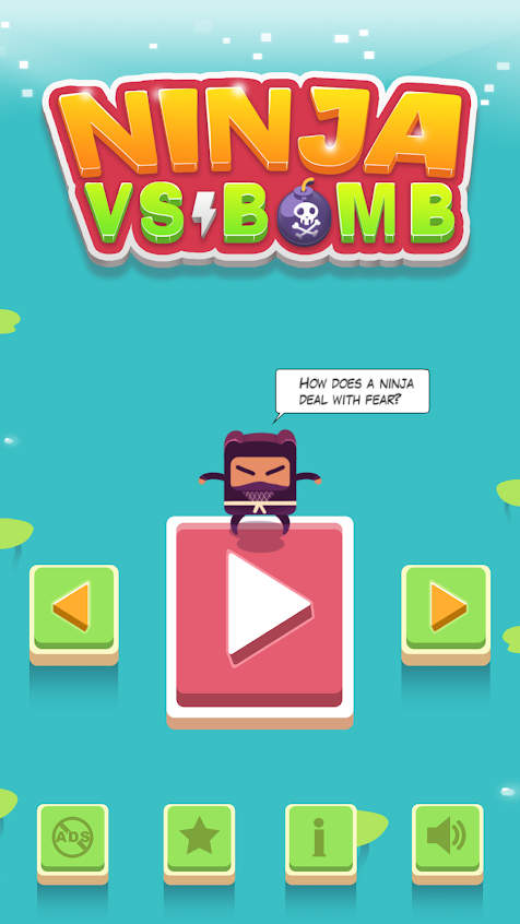Ninja VS Bomb Apk Download v1.0.7 Full