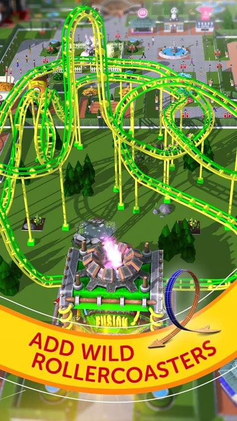RollerCoaster Tycoon Touch Apk