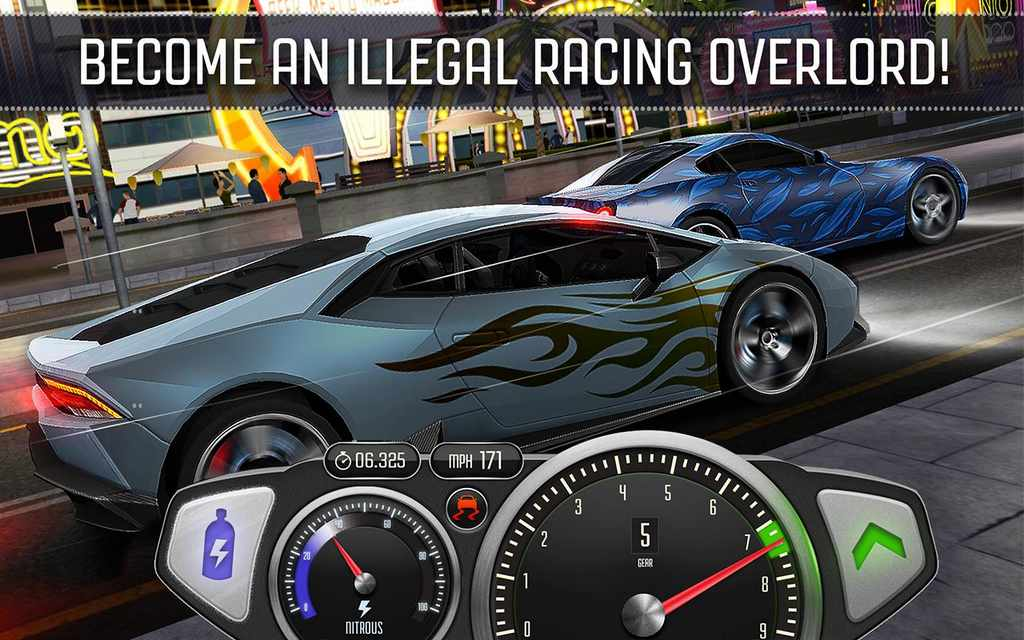 Top Speed Drag & Fast Racing Mod Apk