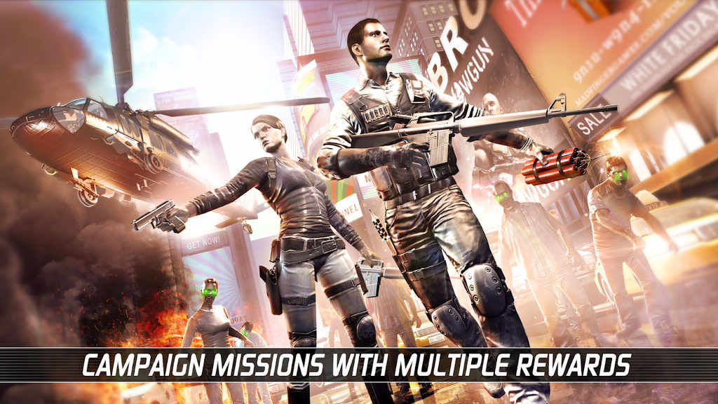 UNKILLED Zombie Multiplayer Shooter Mod Apk