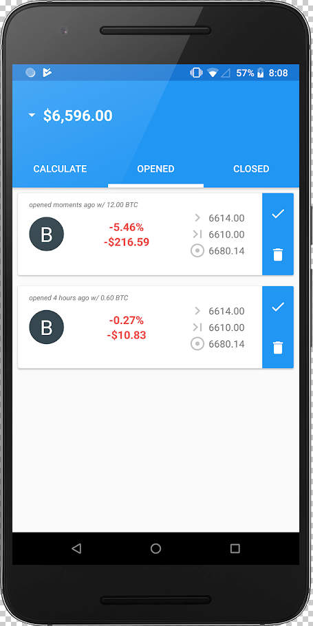 BitCracked - Bitmex Bitcoin Entry Exit Calculator Apk