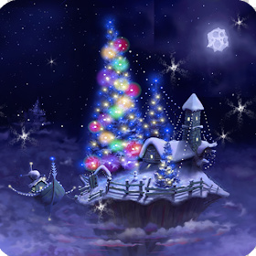 Christmas Snow Fantasy Live Wallpaper Full Apk