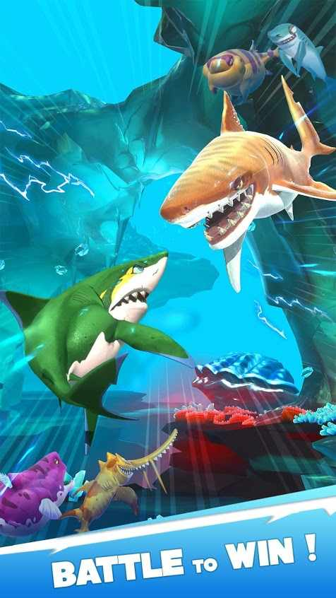 Hungry Shark Heroes Apk