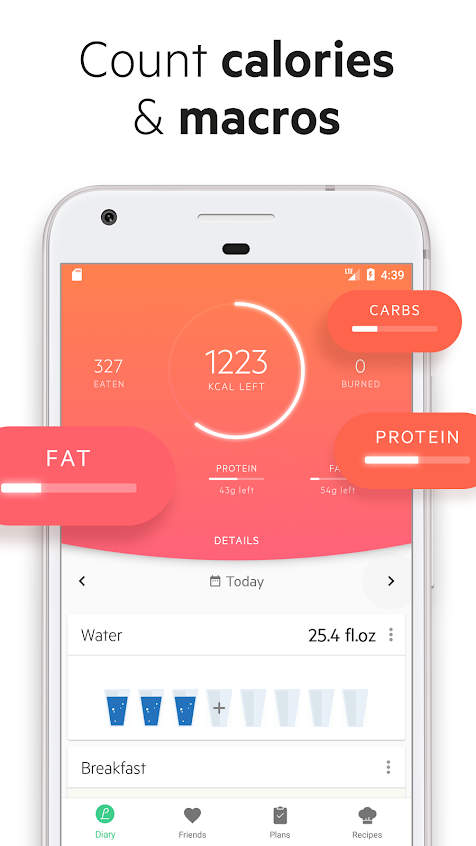 Lifesum - Diet Plan, Calorie Counter & Food Diary Apk