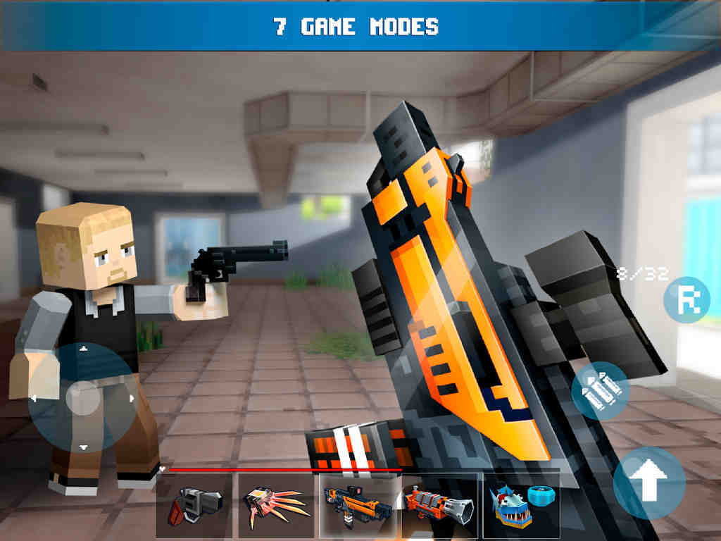 Mad GunZ - Battle Royale, online, shooting games Apk