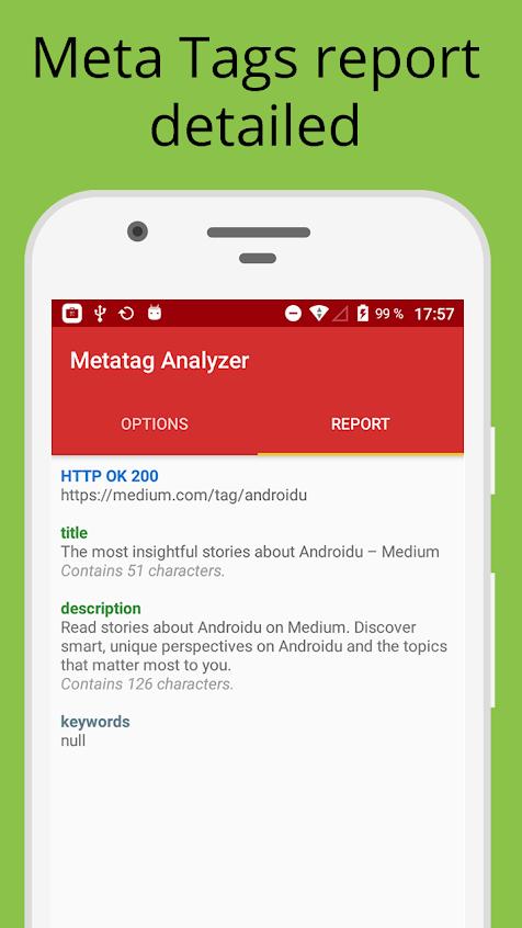Metatag Analyzer Apk