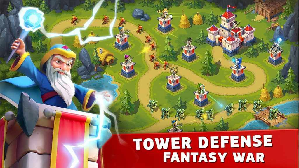 Toy Defense Fantasy - TD Strategy Game Mod