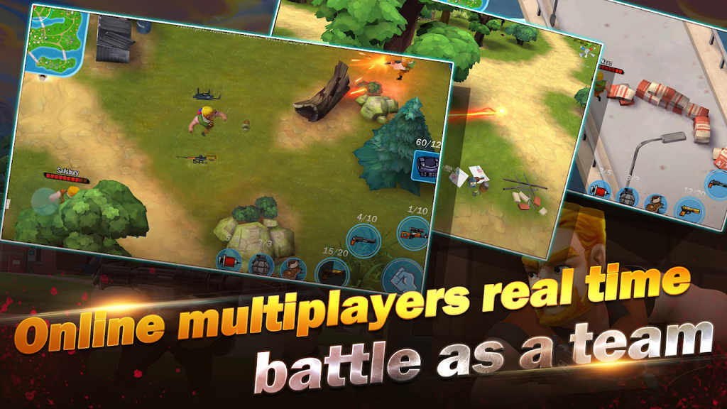 Conflict.io: Battle Royale Battleground Mod Apk