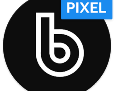 Delux Black Pixel - S9 Icon Pack Apk