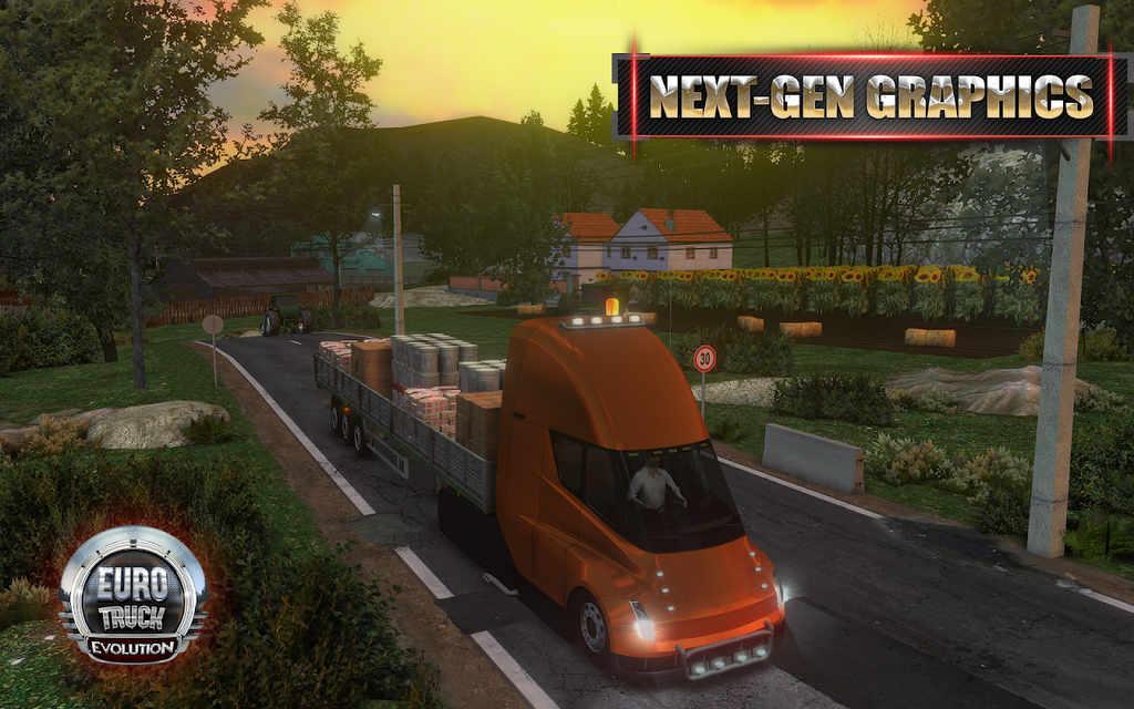 Euro Truck Evolution Mod Apk