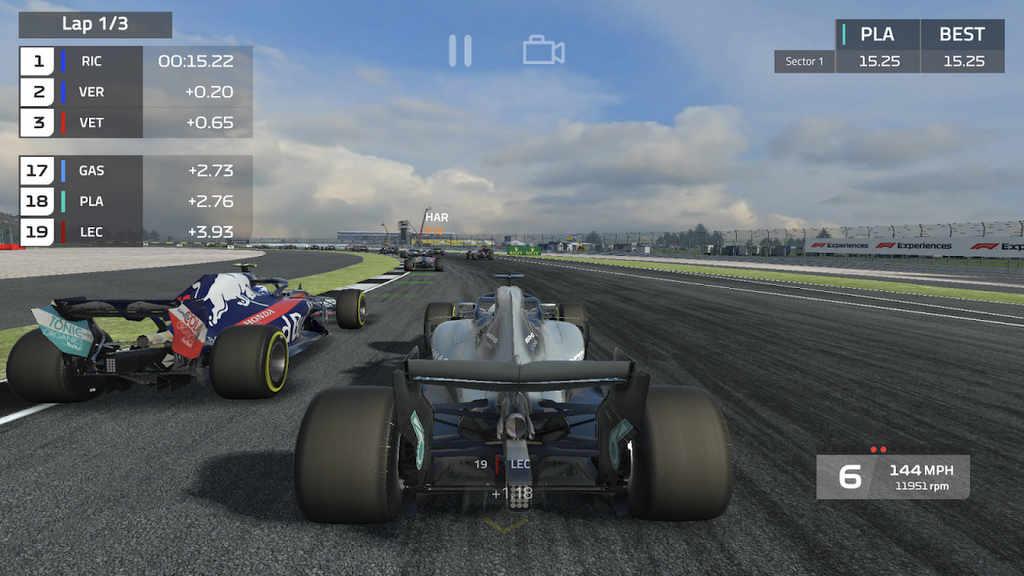 F1 Mobile Racing Mod Apk